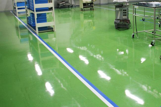 Những điều cần lưu ý khi thi công sơn Epoxy sàn nhà xưởng