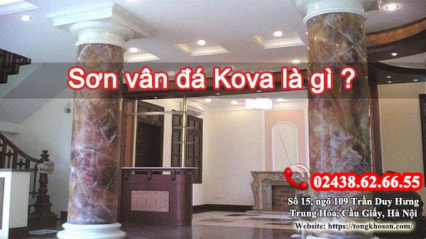 Sơn vân đá Kova là gì?