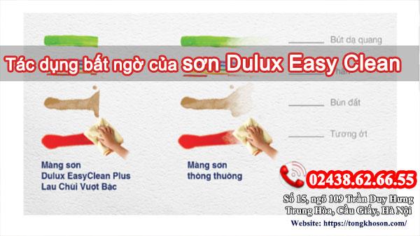 Tác dụng bất ngờ của Sơn Dulux Easy Clean