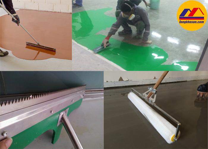 Sơn epoxy cho sàn độ ẩm cao