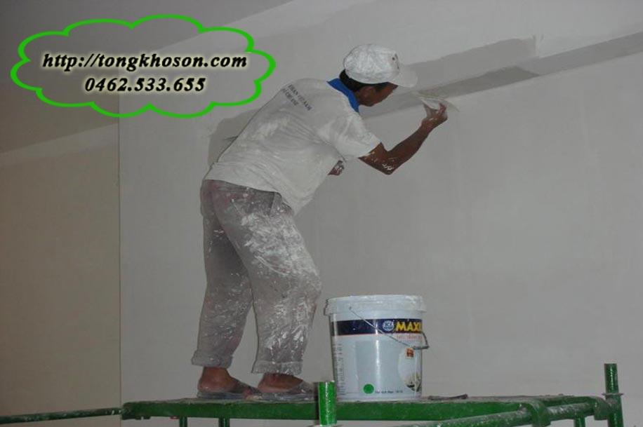 Kinh nghiệm thi công sơn nhà Para tốt nhất hiện nay