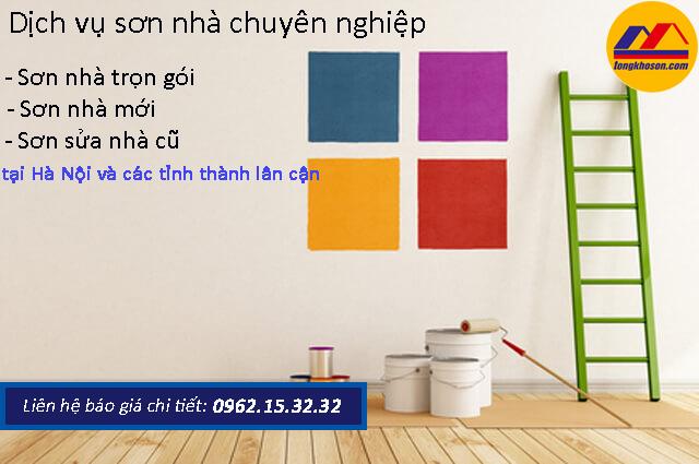 Cần sơn nhà tại Mỹ Đình giá rẻ - Gọi ngay 0962.15.32.32