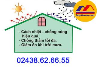 Địa chỉ mua sơn chống nóng intek ở Hà Nội