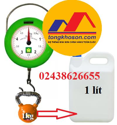 1lít bằng bao nhiêu kg?