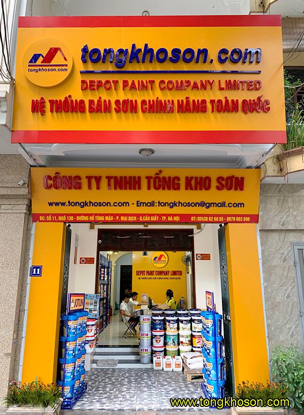 Mua sơn epoxy sàn nhà xưởng tại Hà Nội giá rẻ nhất, Bảo Hành chính hãng