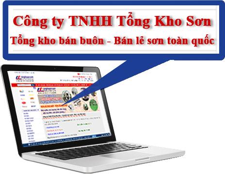 Công ty TNHH Tổng Kho Sơn – Tổng kho bán buôn - Bán lẻ sơn toàn quốc