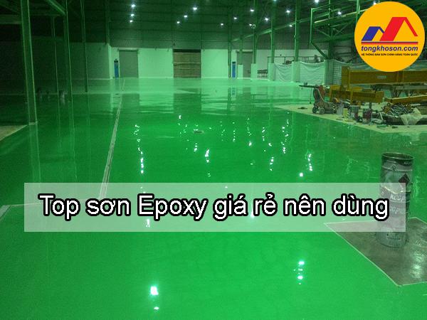 Top sơn Epoxy giá rẻ nên dùng