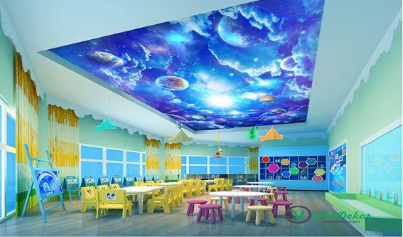 10 mẫu trần nhà 3D - ảo diệu không gian sống của bạn