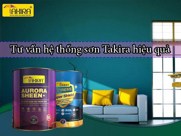 Tư vấn hệ thống sơn Takira hiệu quả cho người sử dụng