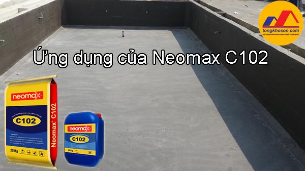 Các ứng dụng của sơn chống thấm NEOMAX C102