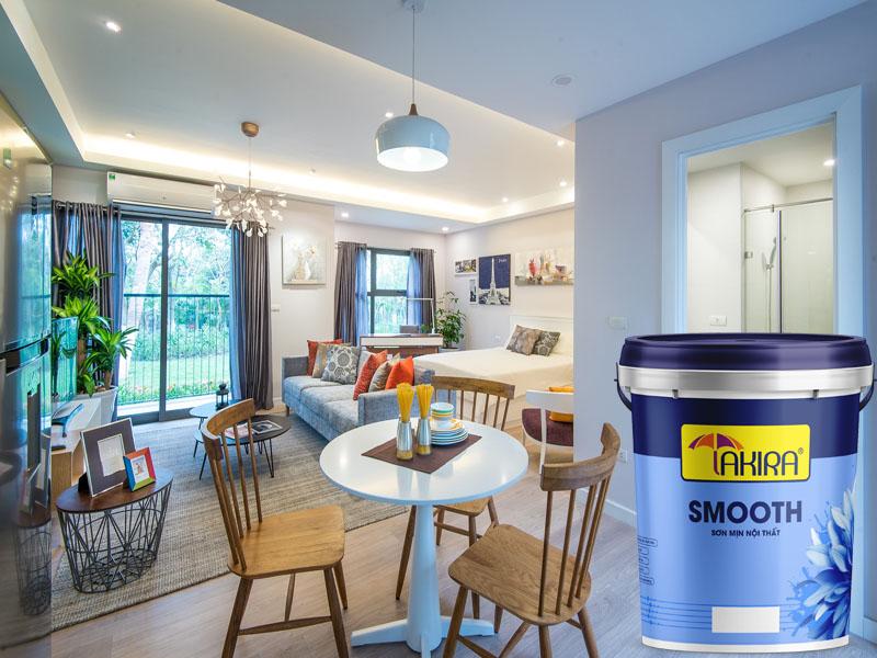 Ưu điểm sơn nội thất Takira cho phòng khách