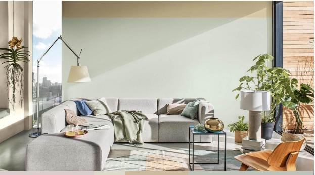 Màu sơn Dulux năm 2020 cho phòng khách