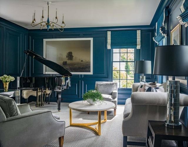 Xanh cổ điển – cảm hứng màu sơn nhà không thể bỏ qua trong mùa nắng nóng này