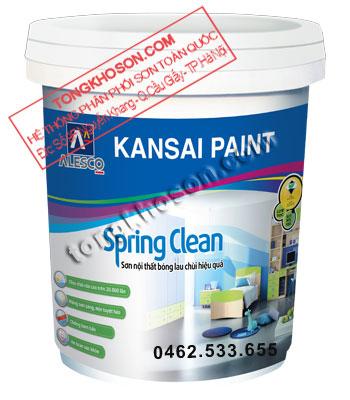 Sơn Kansai Spring Clean nội thất bóng cao cấp