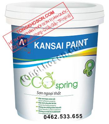 Sơn Kansai Eco Spring ngoại thất siêu mịn