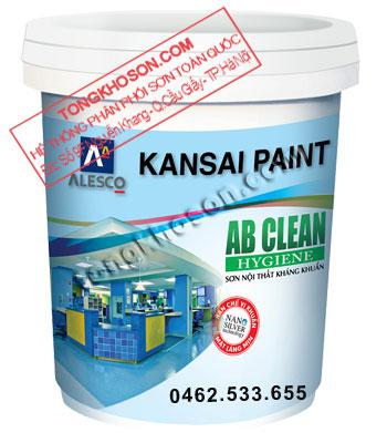 Sơn Kansai AB.Clean nội thất kháng khuẩn