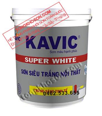 Sơn Kavic siêu trắng dùng cho trần nhà