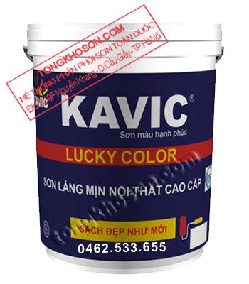 Sơn Kavic Lucky Color nội thất láng mịn