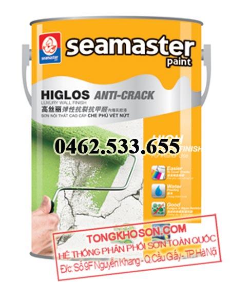 Sơn Seamaster 8500 nội thất che phủ vết nứt