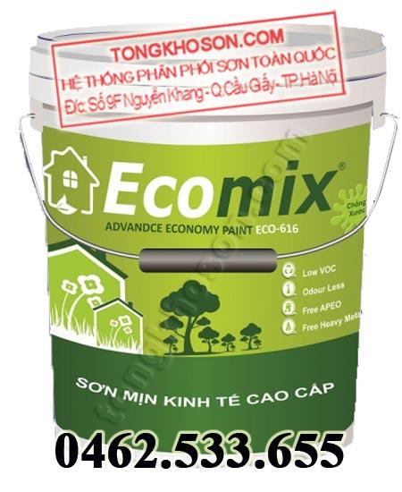 Sơn kinh tế Ecomix nội thất mịn cao cấp Economy