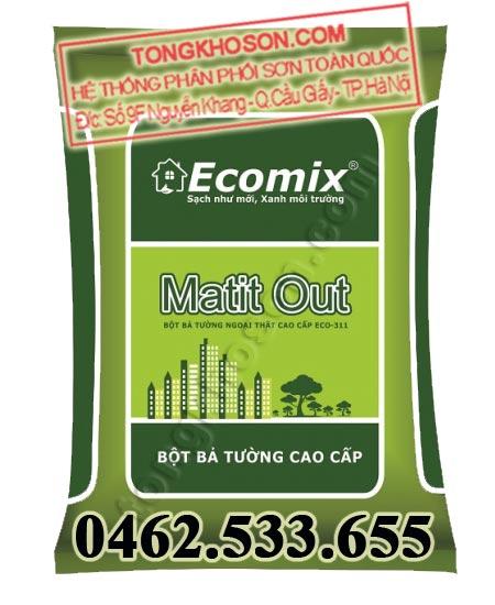 Bột trét tường ngoại thất Ecomix ECO-311
