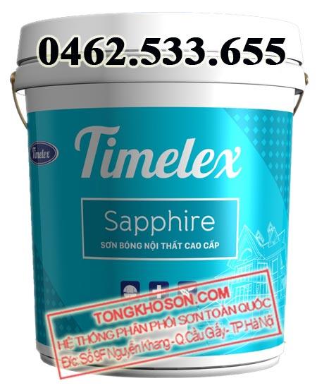 Sơn Timelex nội thất bóng cao cấp Sapphire
