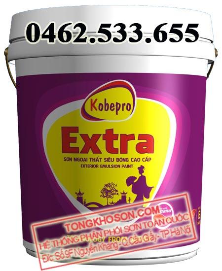 Sơn Kobepro Extra ngoại thất siêu bóng