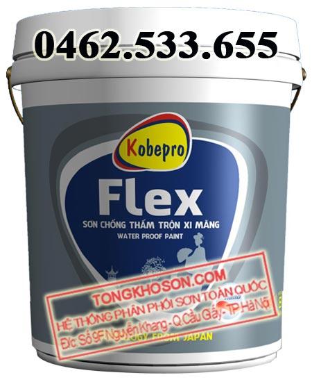 Sơn chống thấm trộn xi măng Kobepro Flex