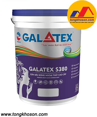 Sơn Galatex S380 ngoại thất siêu bóng