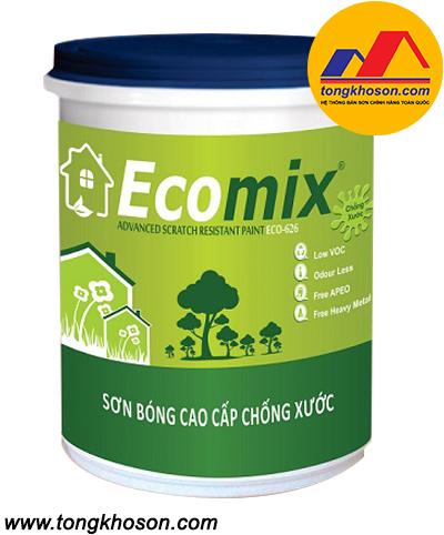 Sơn Ecomix Eco-626 nội thất bóng chống chầy xước Anti Seratch