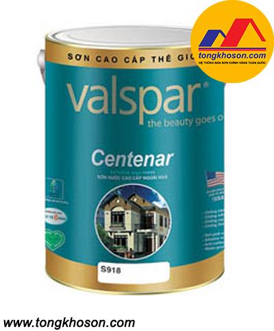 Sơn Valspar Centenar ngoại thất bóng S918
