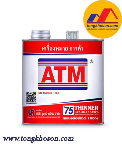 Dung môi pha sơn ATM Thinner AAA
