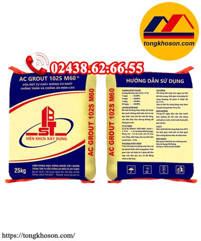 AC Grout M60 – Vữa tự chảy không co ngót CCP