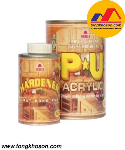 Sơn gỗ Motokieu PU Acrylic
