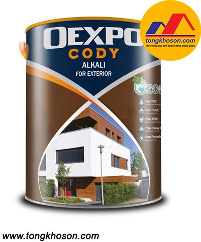 Sơn lót chống kiềm Oexpo Cody Alkali For Exterior ngoại thất