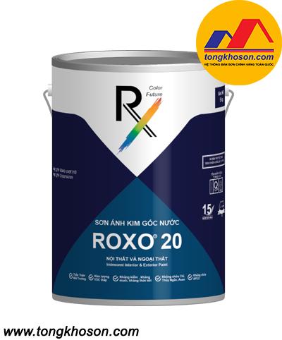 Sơn tường ánh kim ROXO 20 cao cấp gốc nước