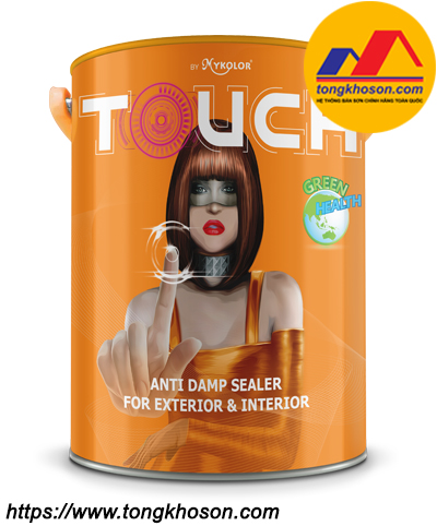 Sơn lót chống thấm ngược Mykolor Touch Anti Damp Sealer For Exterior & Interior