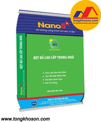 Bột bả chống thấm Nano 8 sao nội thất cao cấp