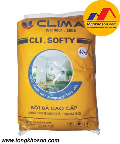 Bột bả Clima trong và ngoài nhà Cli Softy