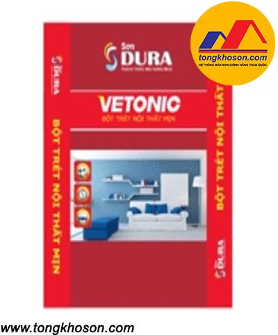 Bột bả Dura Vetonic nội thất mịn