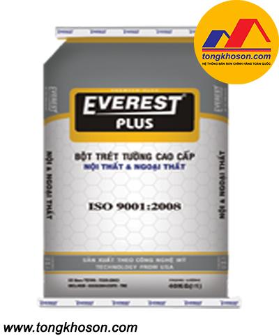 Bột bả Everest nội và ngoại thất Plus
