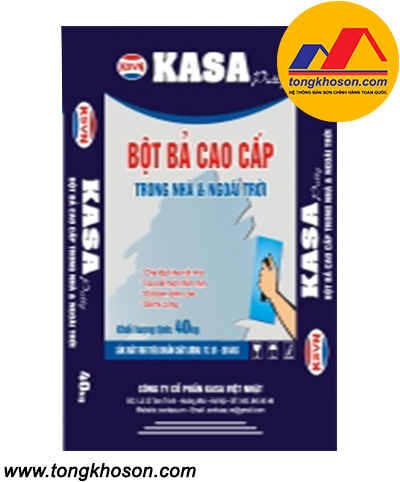 Bột bả Kasa 2 in 1 cao cấp