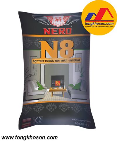 Bột bả Nero N8 nội thất cao cấp
