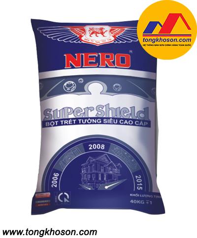 Bột bả Nero Super Sheild ngoại thất siêu cao cấp