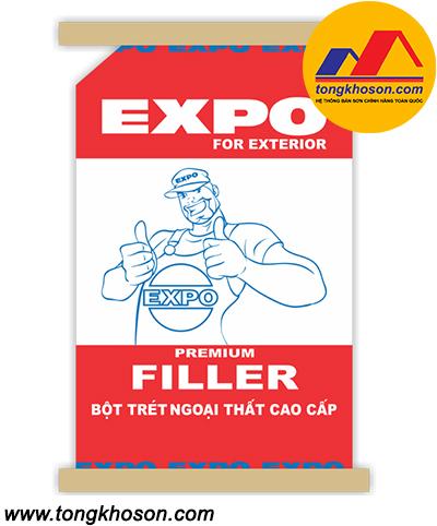 Bột trét tường Expo Filler ngoại thất