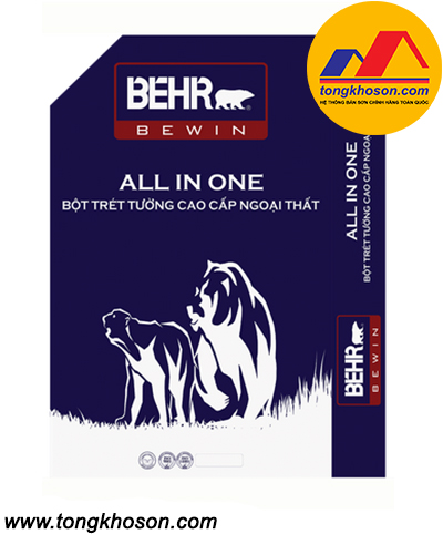 Bột bả Behr ngoại thất cao cấp All In One