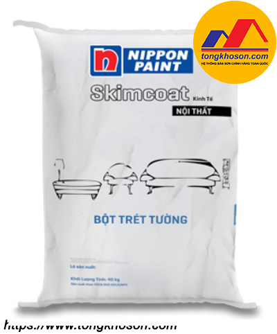 Bột trét tường Nippon SkimCoat kinh tế nội thất