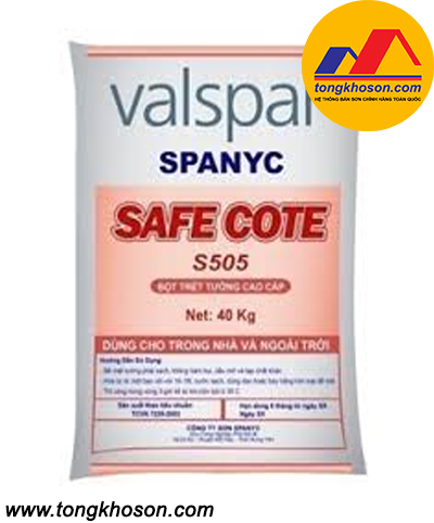 Bột bả Valspar Safe Cote S505