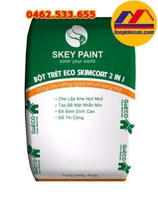 Bột trét tường Skey ECO SKIMCOAT 2 IN 1 S400