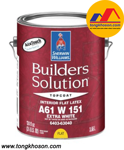 Sơn Sherwin Williams Builders Slution nội thất
